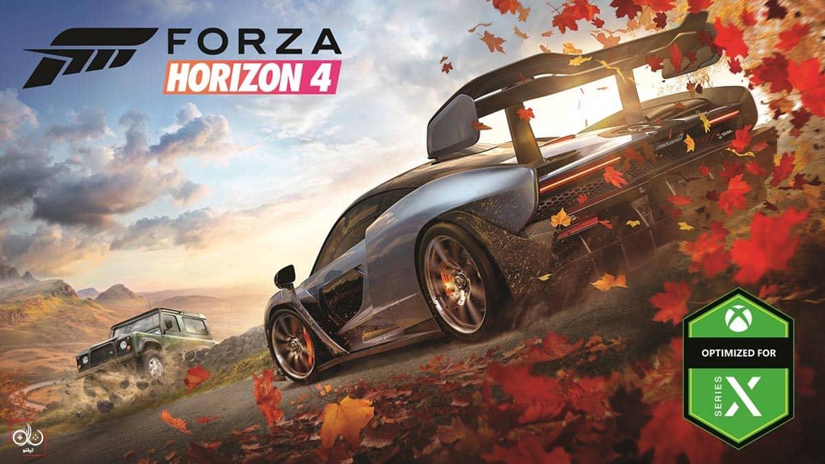 خرید بازی forza horizon برای ایکس باکس سری ایکس