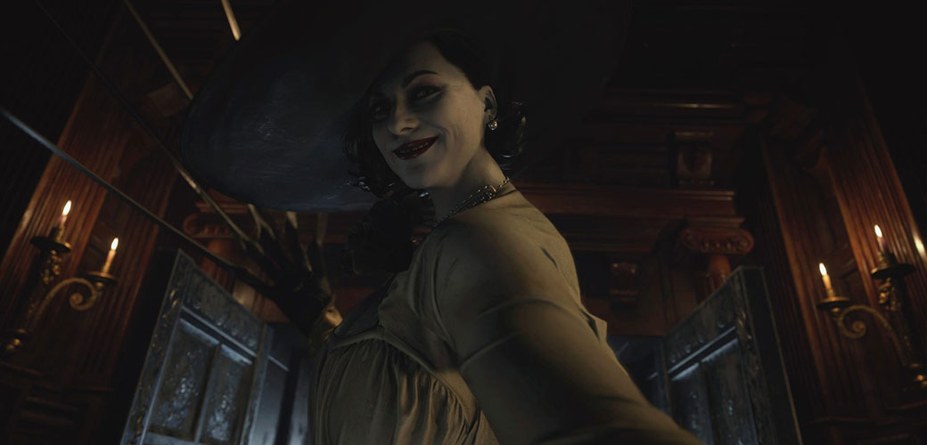 بانو دیمیترسکو (Lady Dimitrescu) بازی Resident Evil Village
