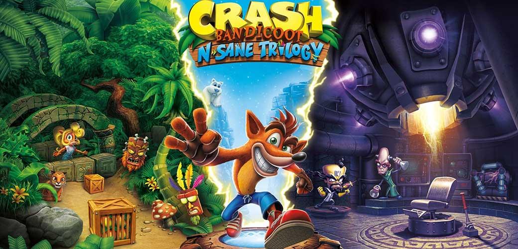 بازی Crash Bandicoot N. Sane Trilogy کنسول نینتندو سوییچ
