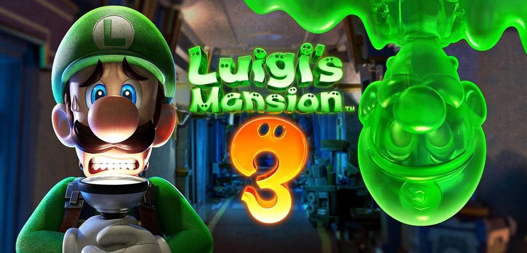 بازی Luigi's Mansion 3 کنسول نینتندو سوییچ