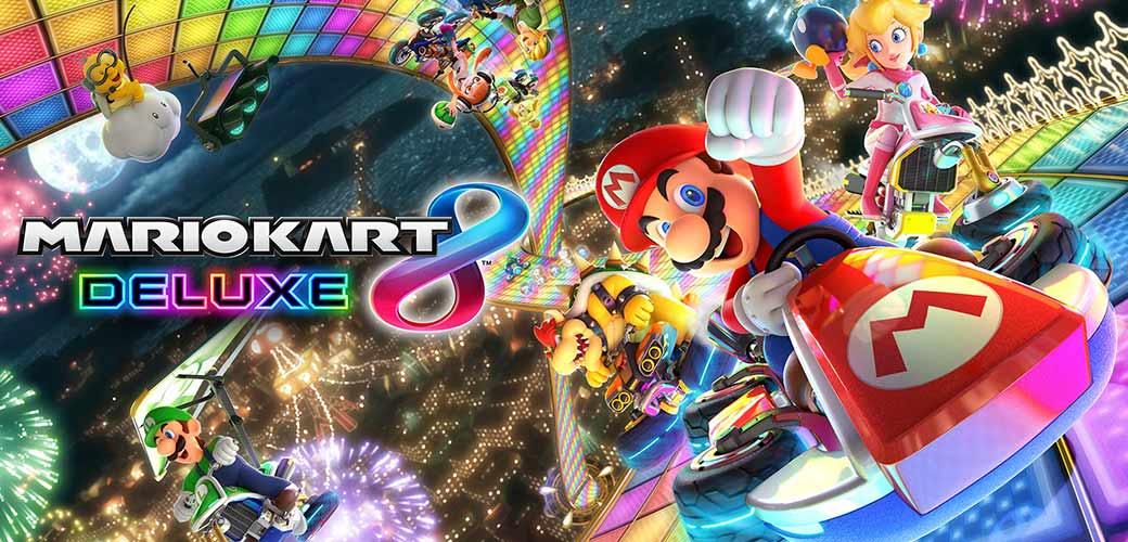 بازی Mario Kart 8 Deluxe کنسول نینتندو سوییچ