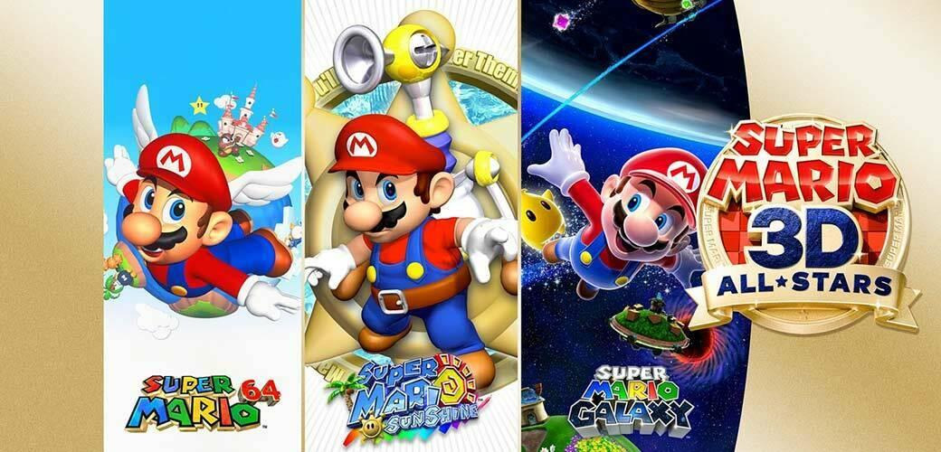 بازی Super Mario 3D All-Stars کنسول نینتندو سوییچ