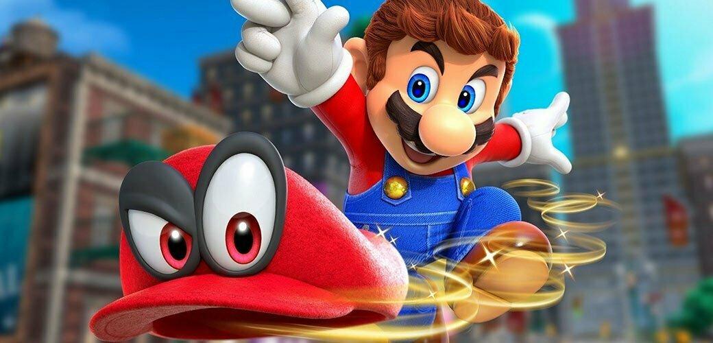 بازی Super Mario Odyssey کنسول نینتندو سوییچ