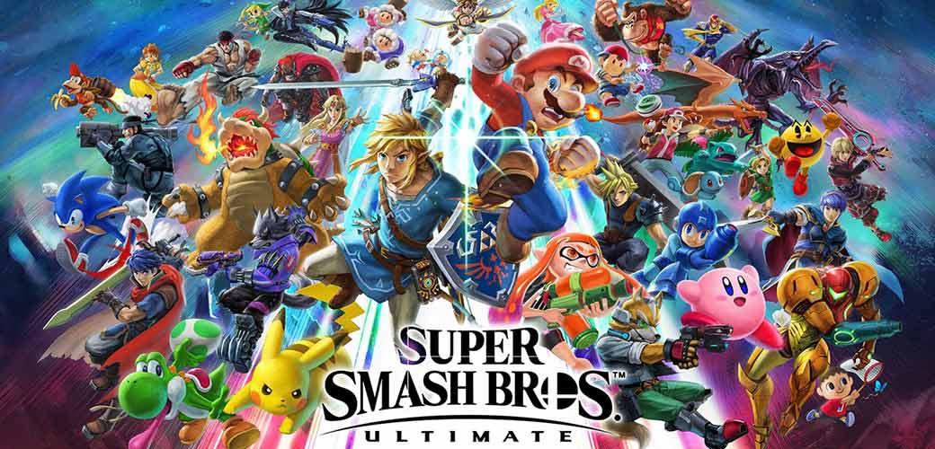 بازی Super Smash Bros. Ultimate کنسول نینتندو سوییچ