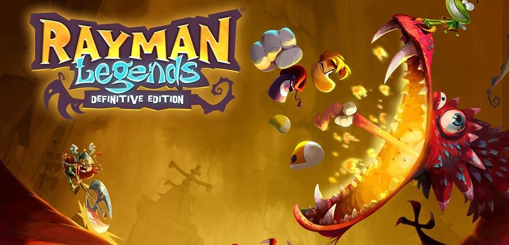 بازی Rayman Legends کنسول نینتندو سوییچ
