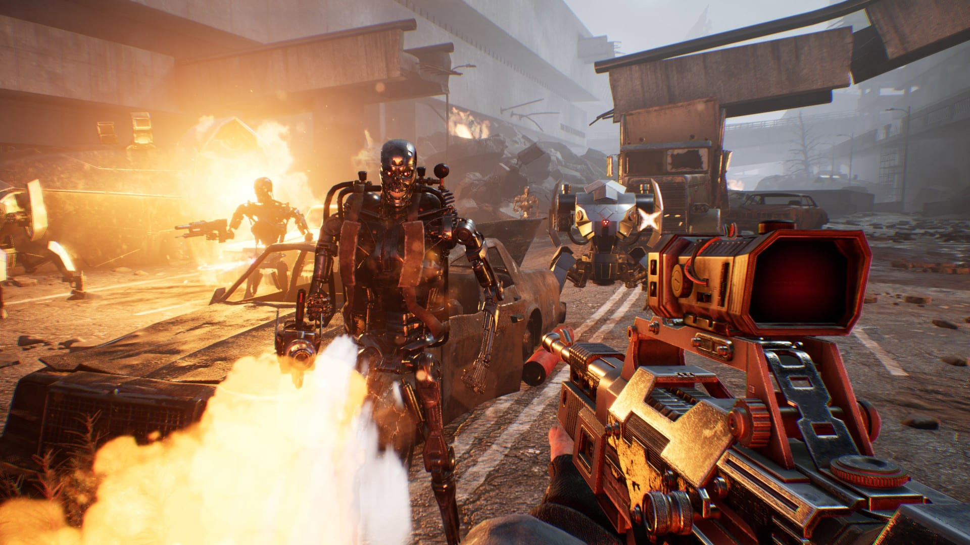 بازی Terminator Resistance Enhanced