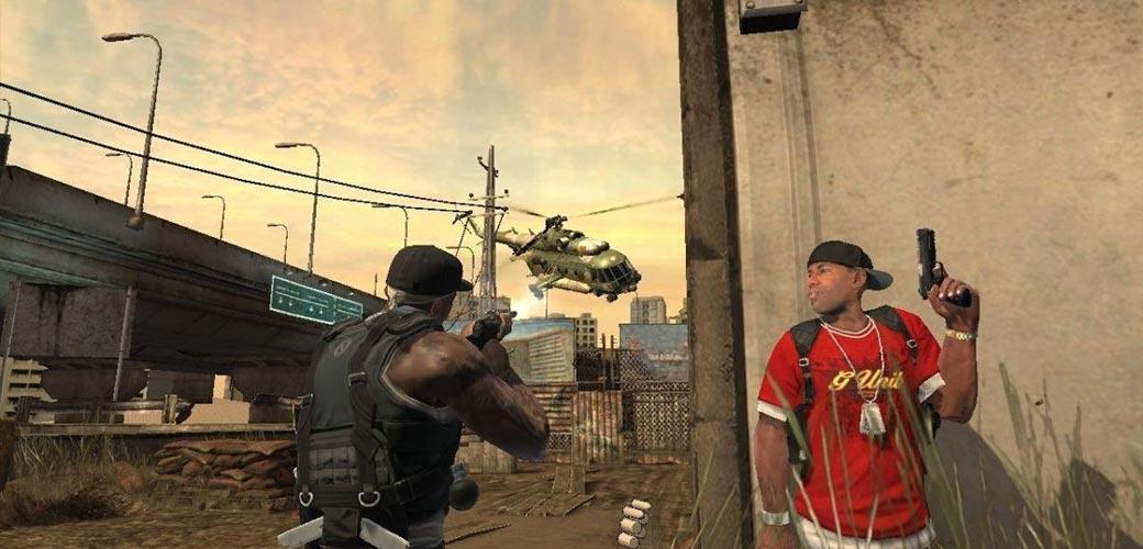 بازی 50 Cent: Blood on the Sand