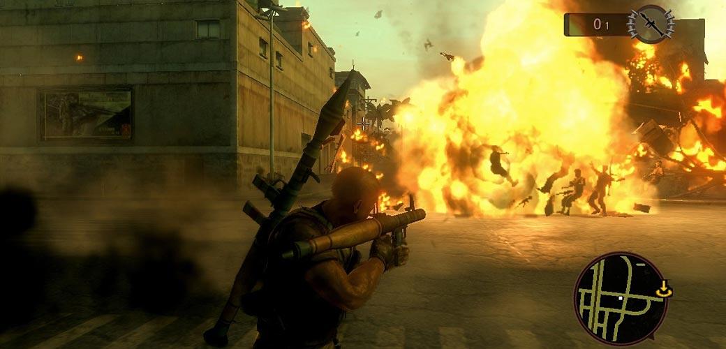 بازی Mercenaries 2: World in Flames